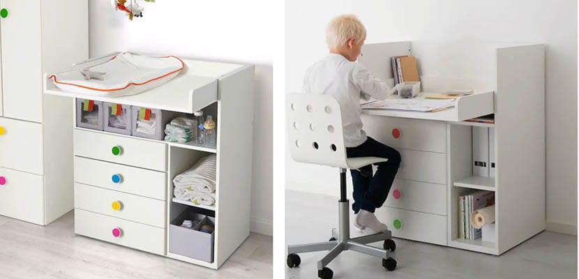 Cambiador Stuva Ikea