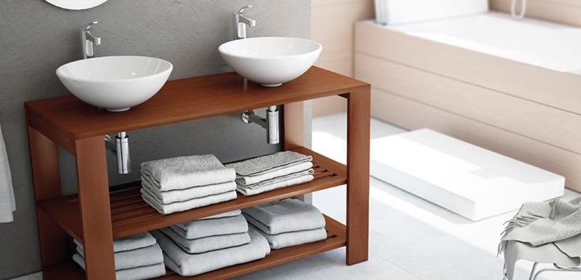 Mueble en el baño