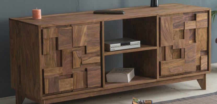 Muebles de madera de pino para tu hogar