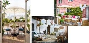 Muebles de terraza de Ikea