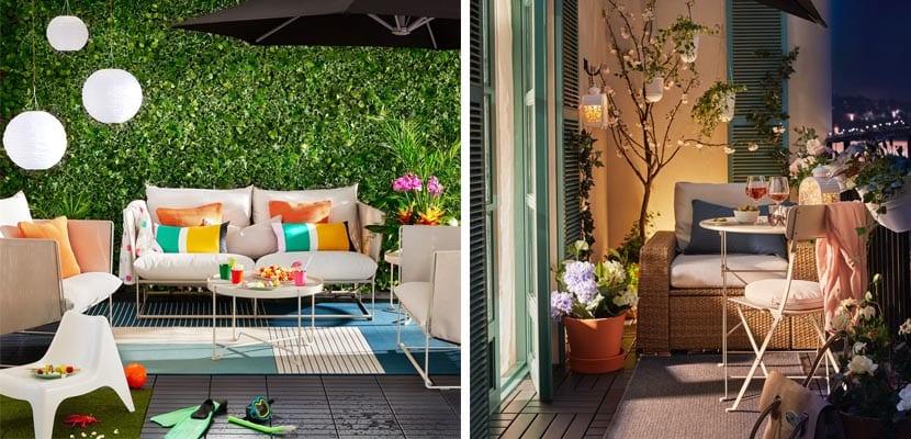 Muebles De Terraza De Ikea Para Disfrutar Al Aire Libre