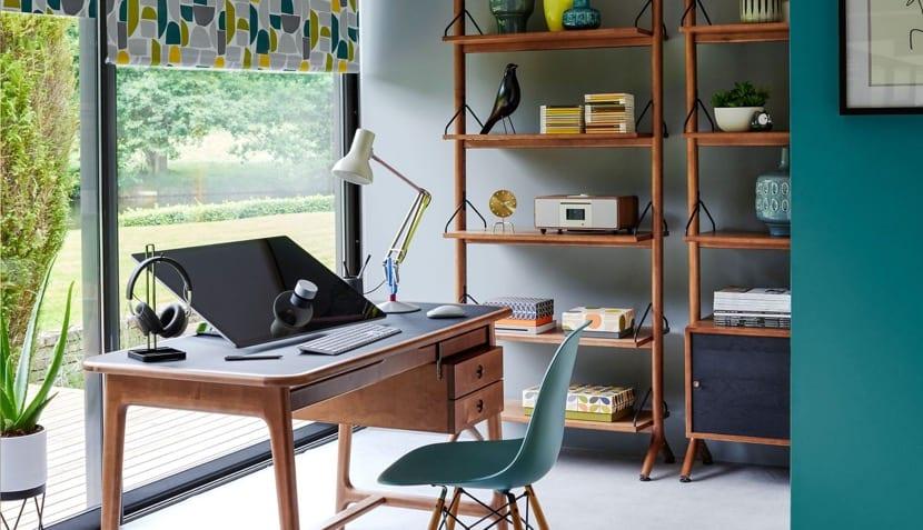 oficina sin distracciones con luz natural