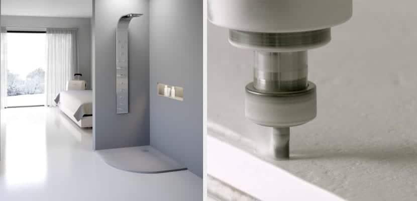 Platos de ducha de resina