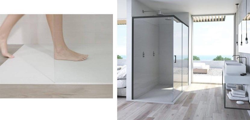 Platoa de ducha extraplanos