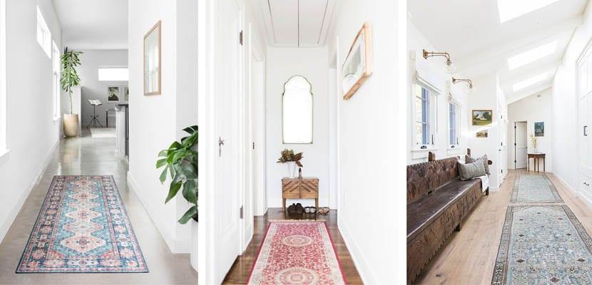 Alfombras clásicas para pasillo