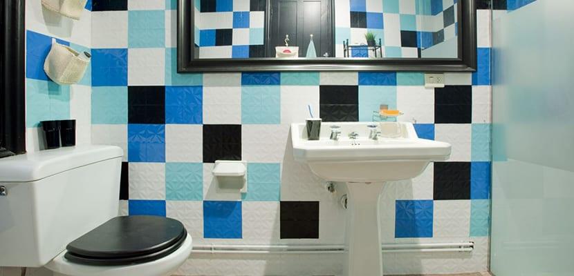 Azulejos en el baño
