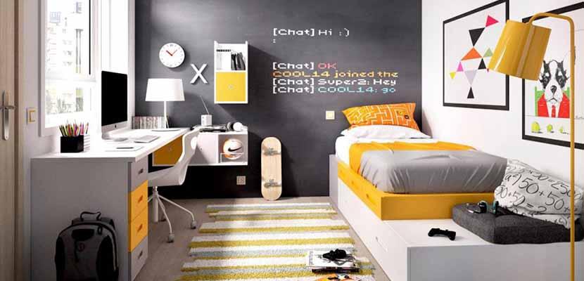 Dormitorios coloridos