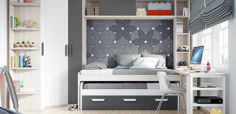 Dormitorios funcionales