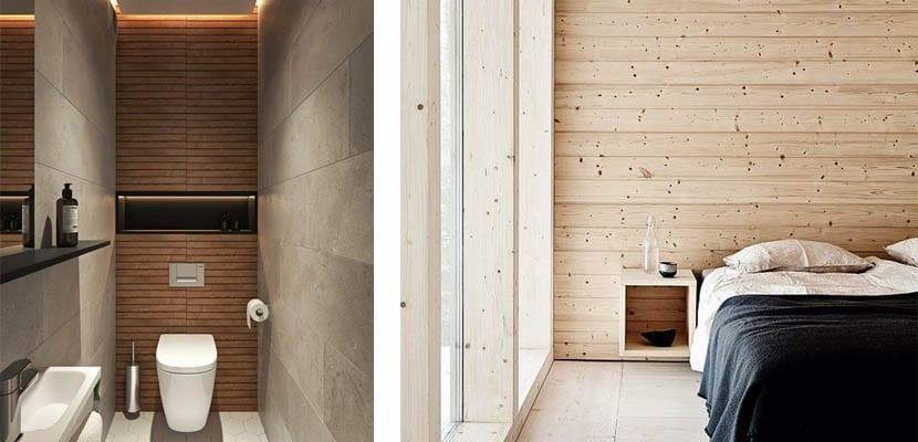 Fondo de madera horizontal
