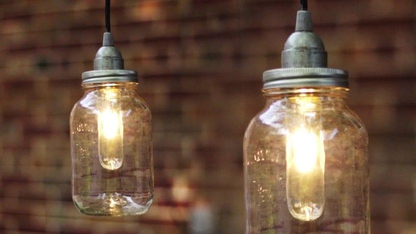 iluminacion rustica para exteriores