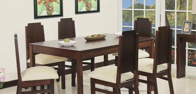 Decorar con una mesa de comedor de madera – OBSiGeN