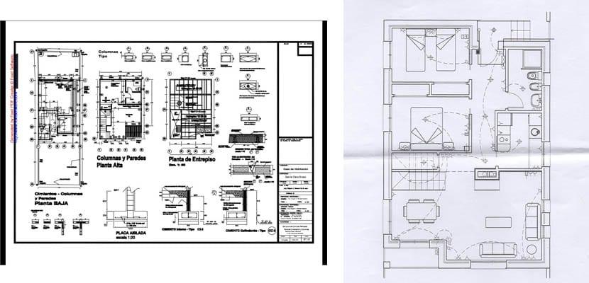 Plano estructural y de instalación eléctrica