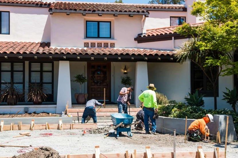 proyecto de renovar el hogar