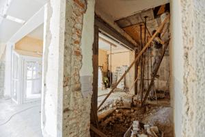 paredes tiradas para renovar el hogar
