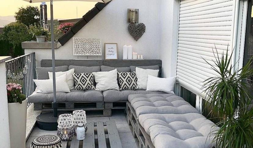 Textiles para la terraza