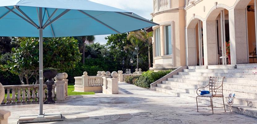 Sombrilla para terraza