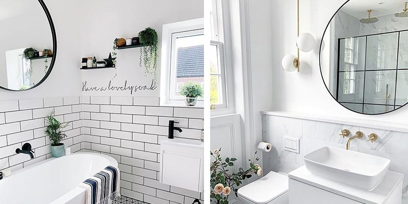 Espejos para el baño