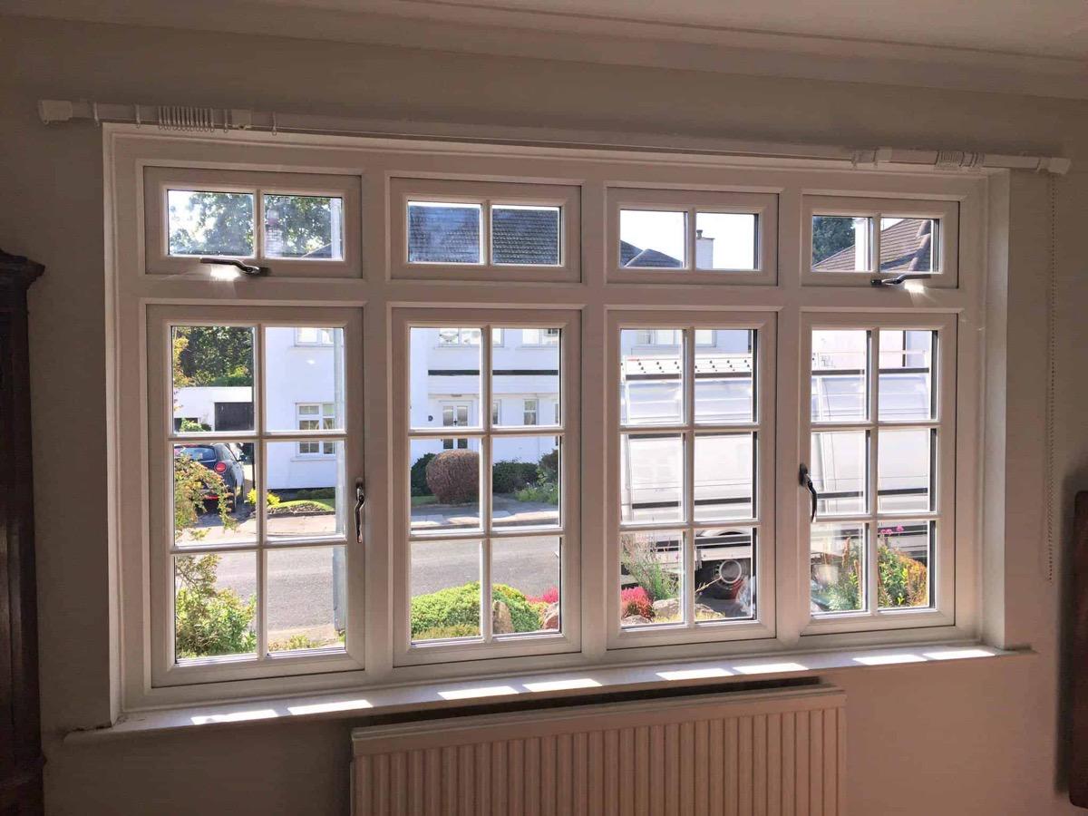ventanas de doble acristalamiento cerradas