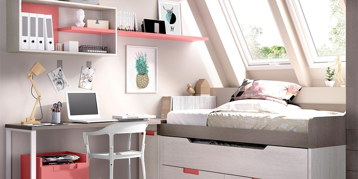 Habitaciones rosadas