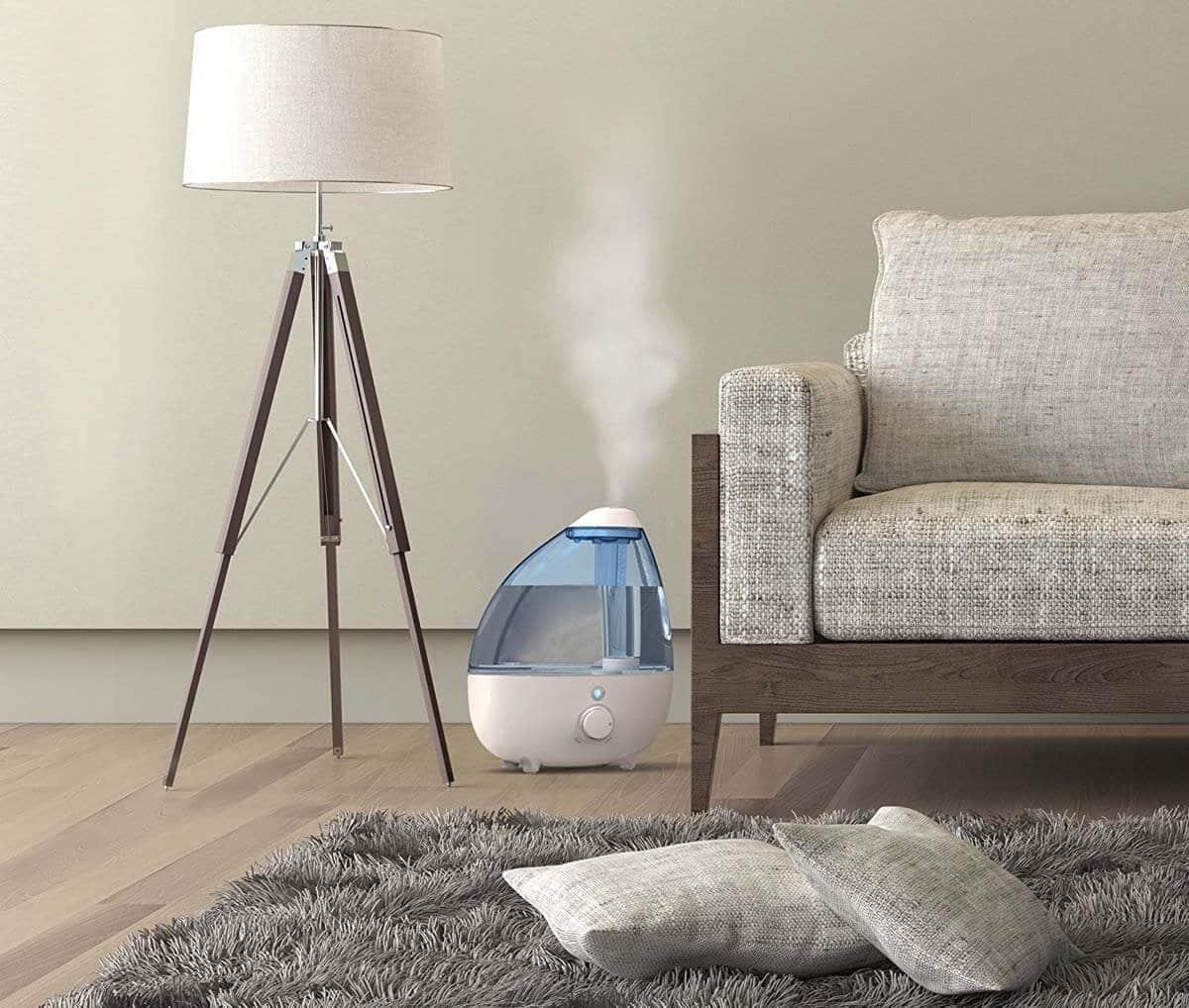 humidificador en casa