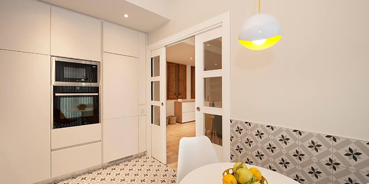 Puertas para la cocina