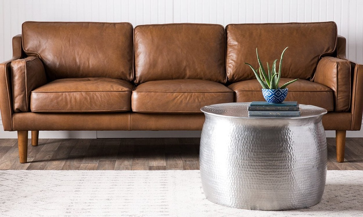 sofa de cue4ro