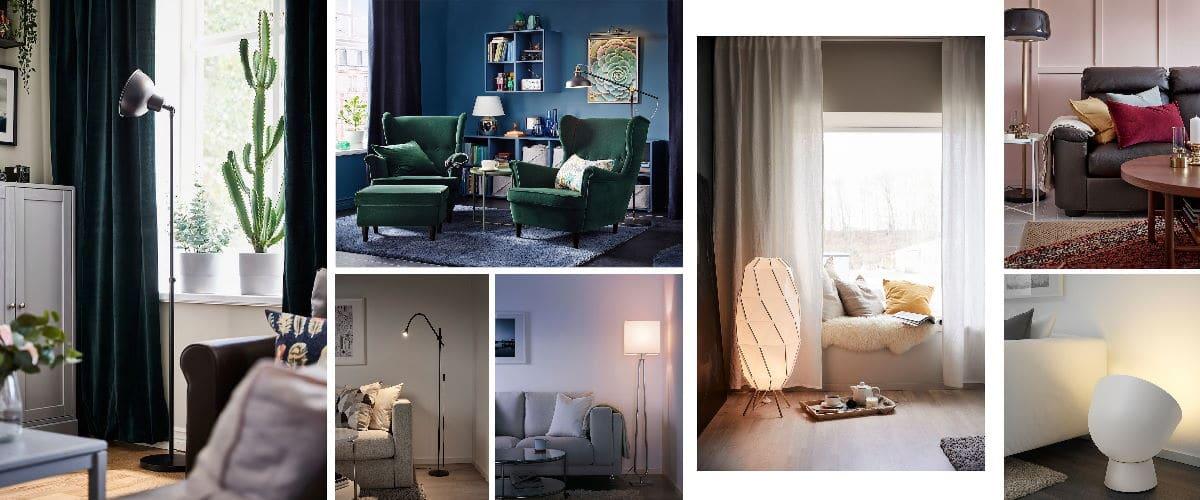 Lámparas de pie de Ikea