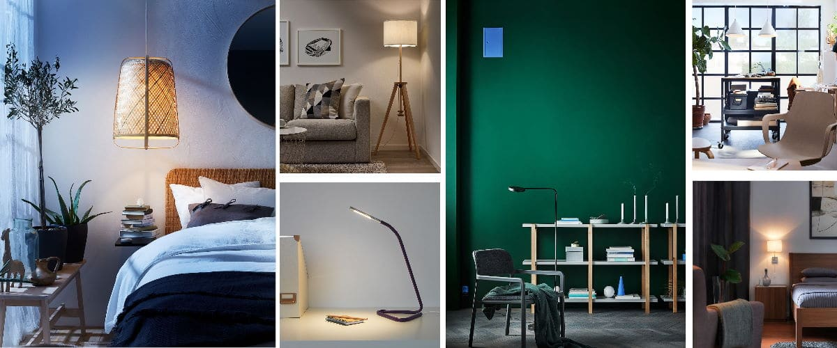 Lámparas de Ikea