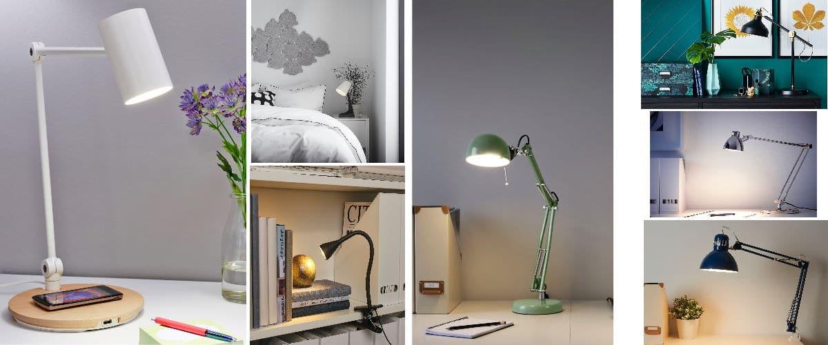 Lámparas y flexos de escritorio