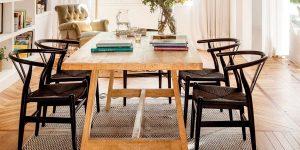 Mesa grande para el comedor
