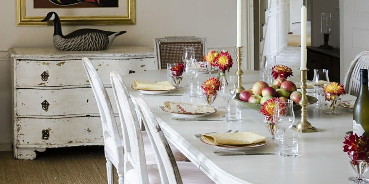 Mesa en estilo clásico