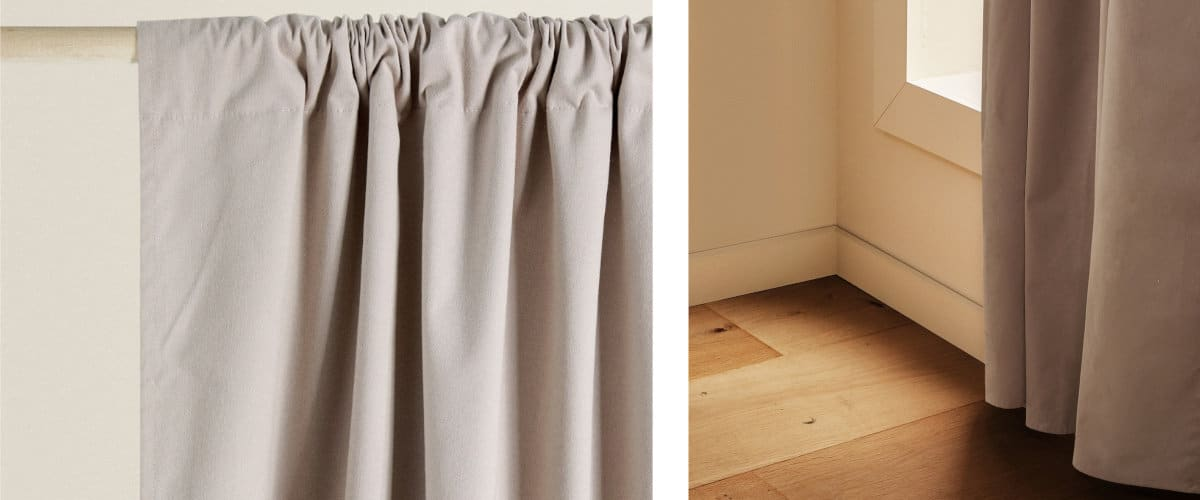 Cortinas opacas Zara Home