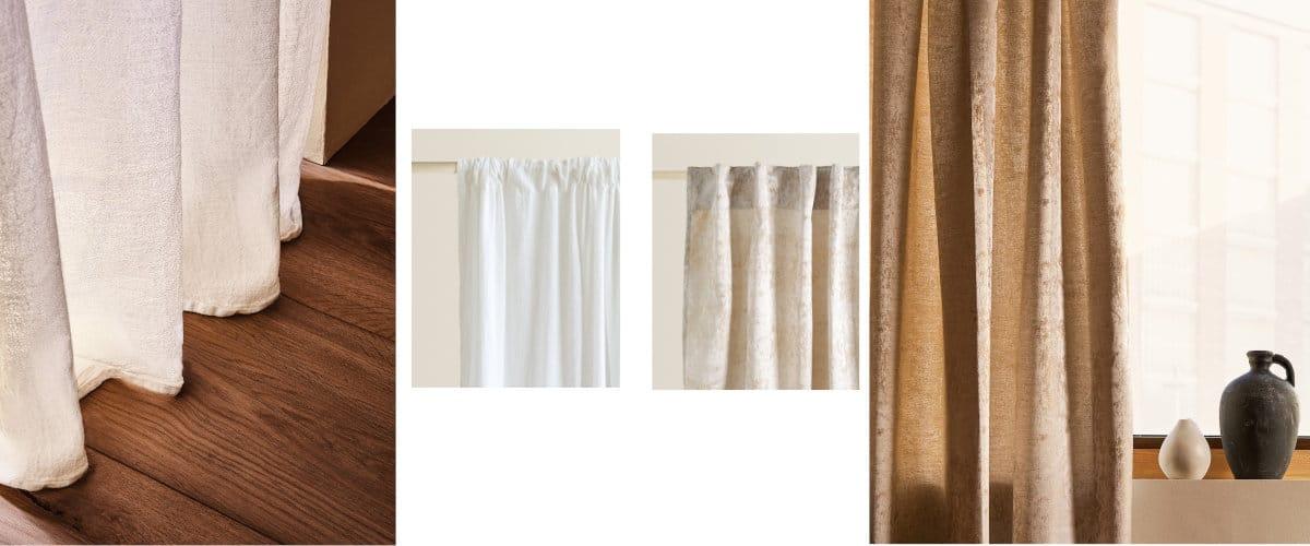 Cortinas de algodón Zara Home