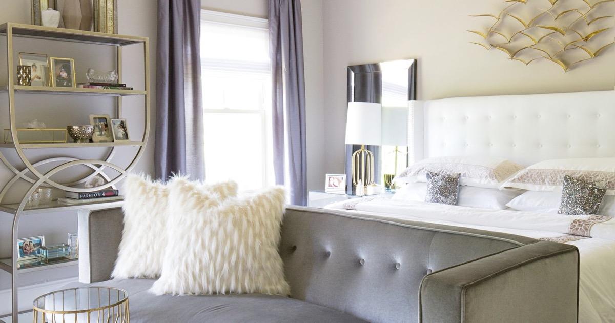 Los mejores acentos para la decoración de tu dormitorio