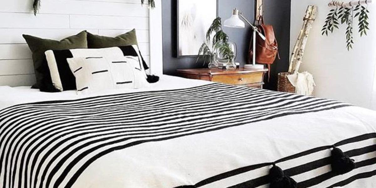 TExtiles en blanco y negro