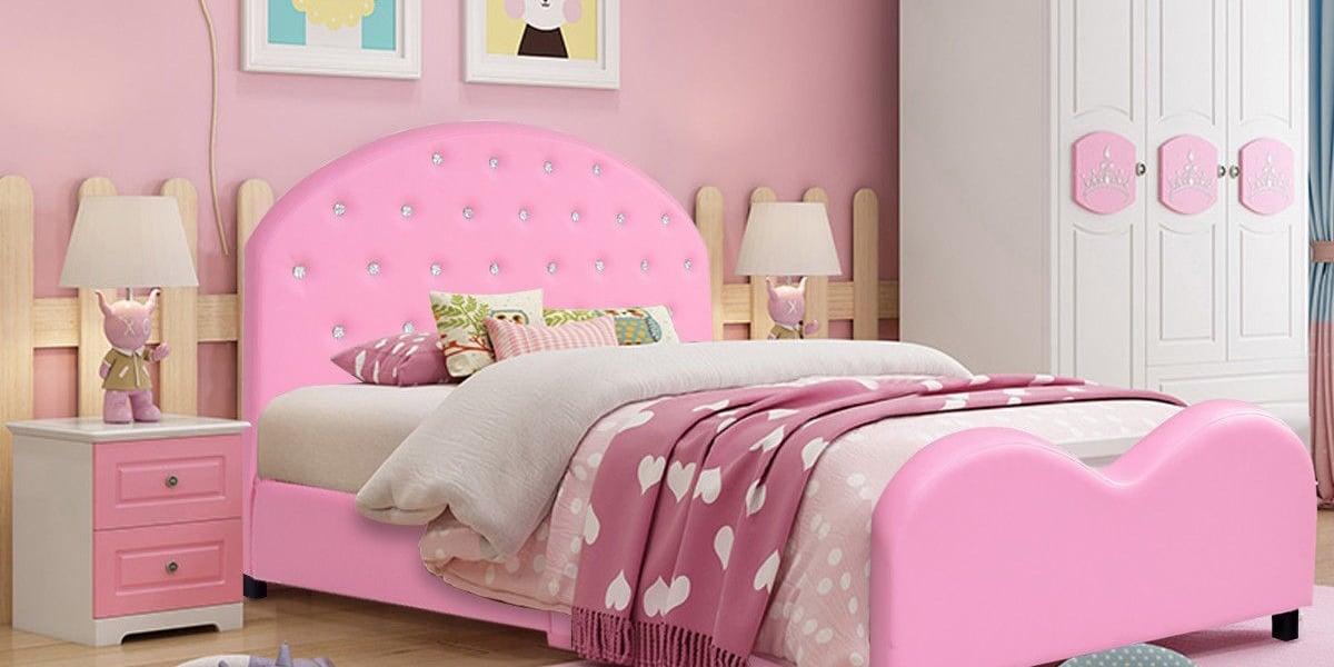 Camas de princesas para alegrar su cuarto