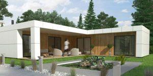 Casas modulares modernas
