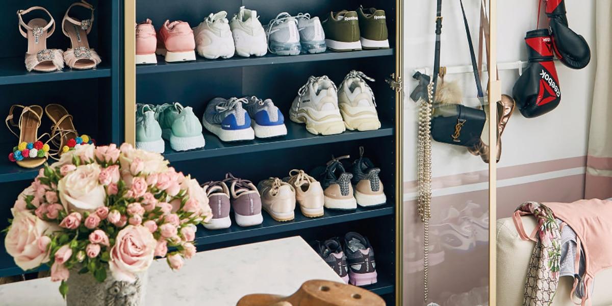 Organizador de zapatos para el hogar