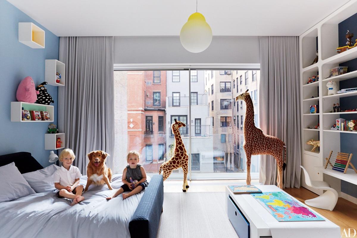 Ideas para suelos de dormitorios infantiles