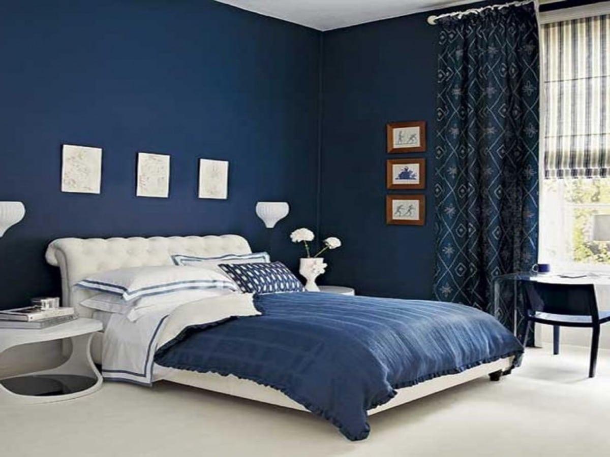 decoracion azul marino