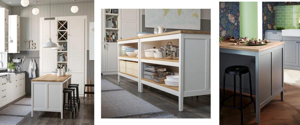 Isla de cocina Tornviken de Ikea