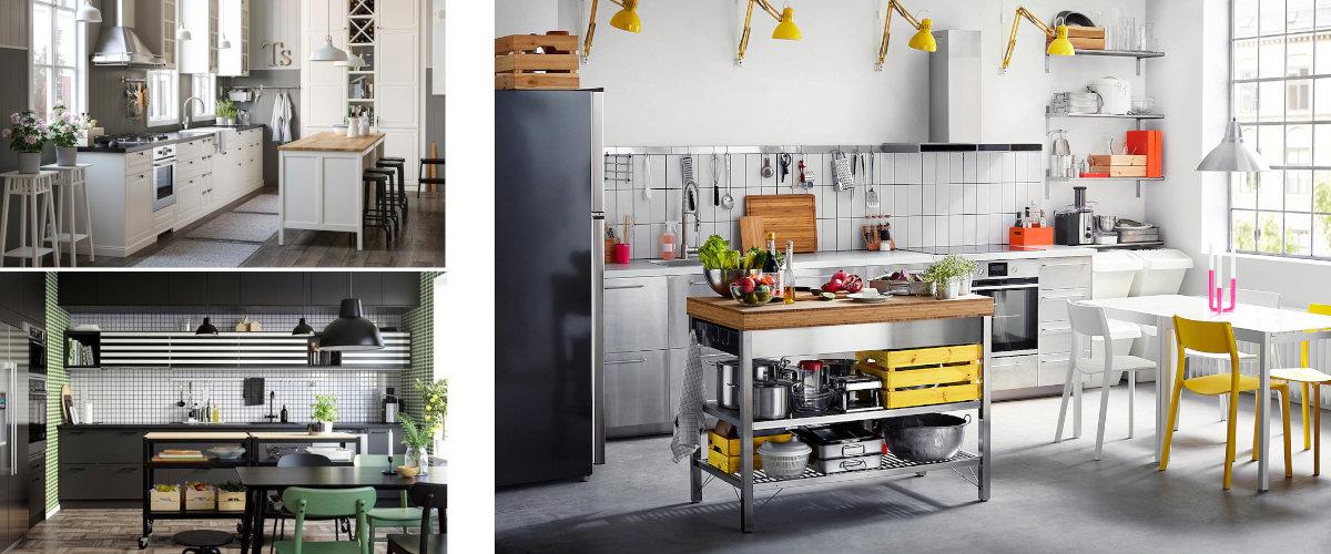 Islas de cocina de Ikea