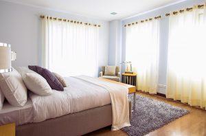 iluminacion en el dormitorio
