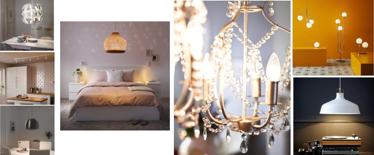 Lámparas de techo de Ikea