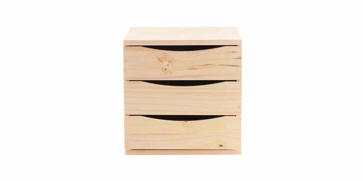 Cajonera en madera