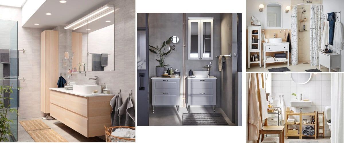 Muebles de lavabo de Ikea
