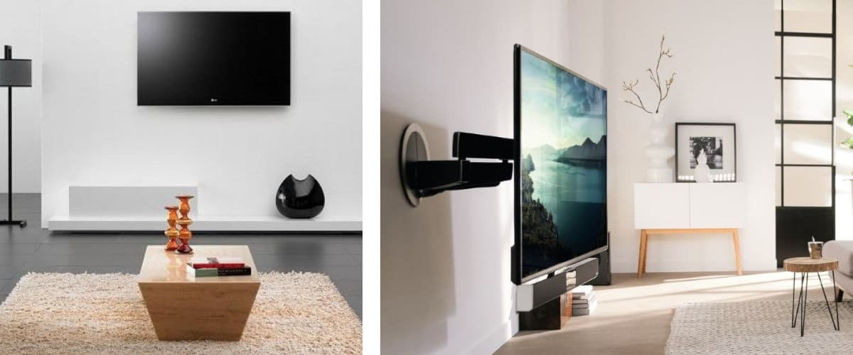 Soportes de pared para televisión