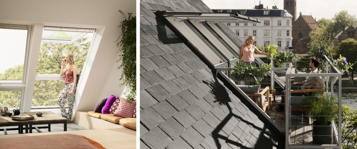 Ventanas de balcón y terraza