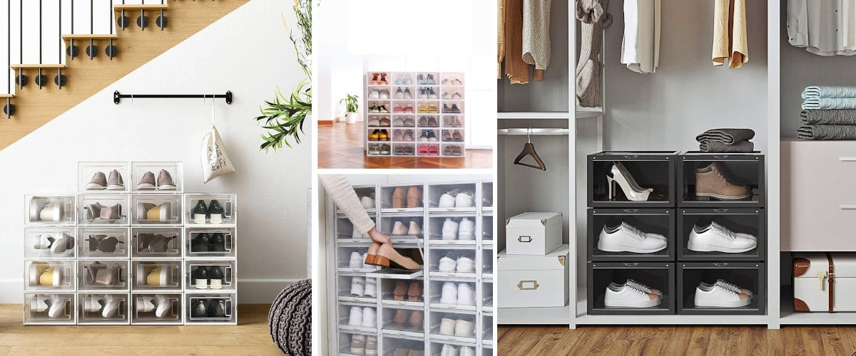 Organizador de cajas para zapatos