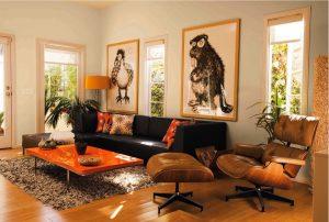 color naranja decoracion